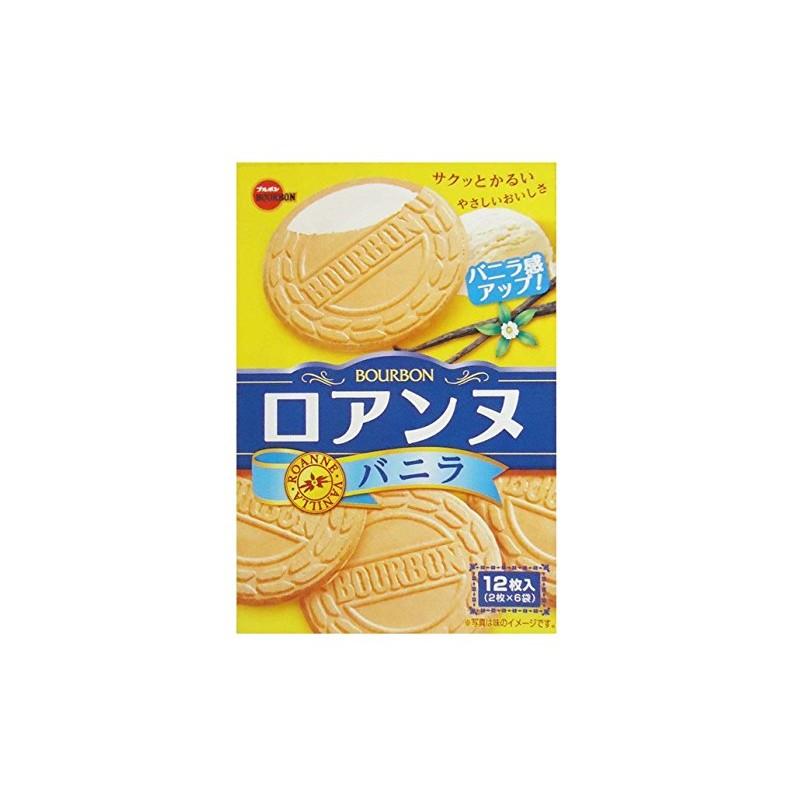 BOURBON Vanilla Roanne 12-count (6-pack) - Japan Halal Food
